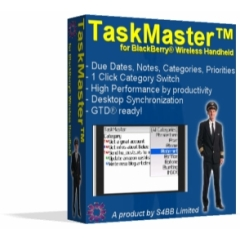 TaskMaster for BlackBerry Wireless Handheld