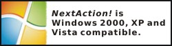 NextAction! - Microsoft Windows Compatible
