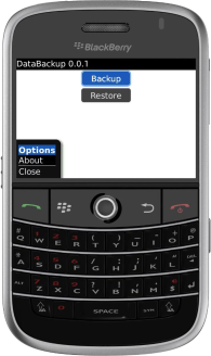 DataBackup for BlackBerry Wireless Handheld - The best backup tool for BlackBerry!