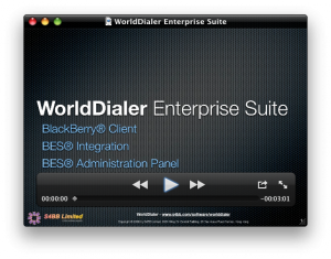 WorldDialer 2.1 now with BES Administration Panel