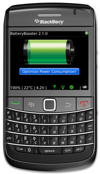 BatteryBooster for BlackBerry Version 2.0
